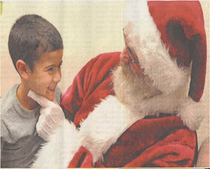 A Smile For Santa: St. Nick helps Letourneau students kick their fear of the dentist