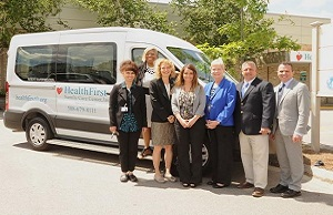 HealthFirst to Offer Patients Free Rides with New Van